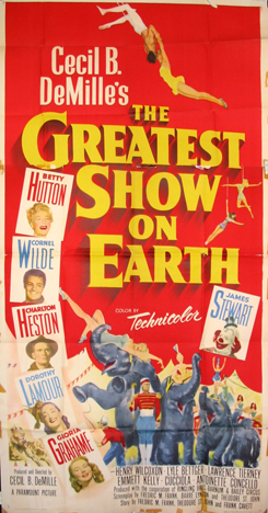 GREATEST SHOW ON EARTH, THE @ FilmPosters.com