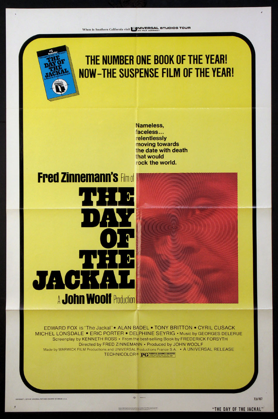 DAY OF THE JACKAL @ FilmPosters.com