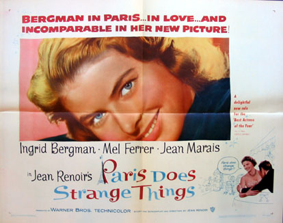 PARIS DOES STRANGE THINGS @ FilmPosters.com