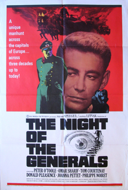 NIGHT OF THE GENERALS @ FilmPosters.com