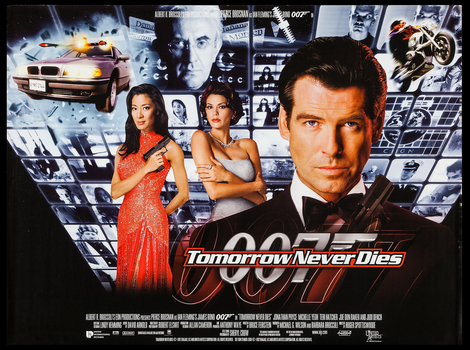 TOMORROW NEVER DIES (James Bond) @ FilmPosters.com