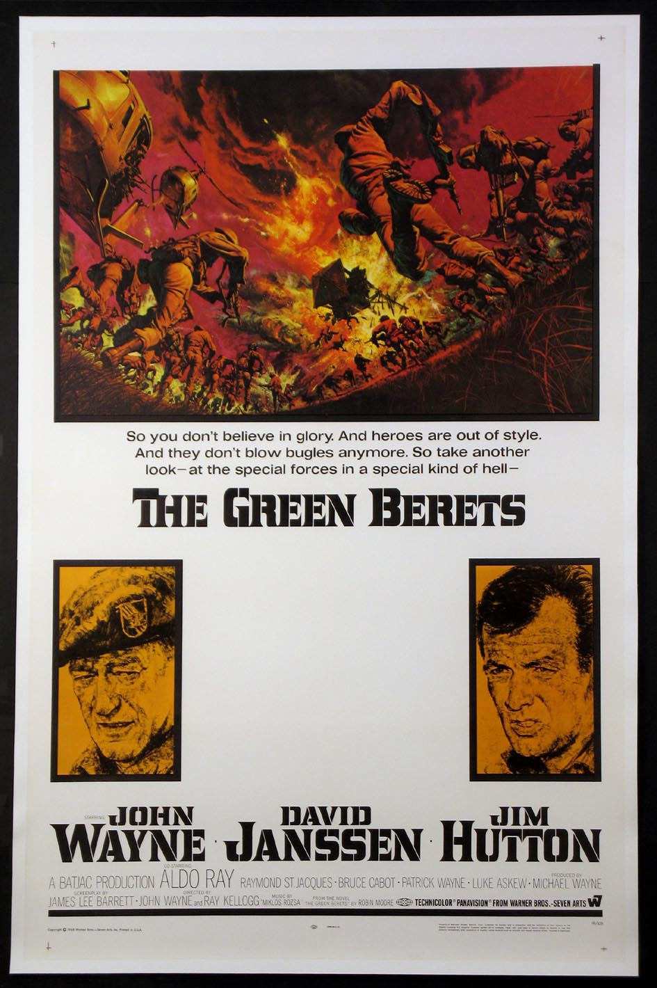 GREEN BERETS, THE @ FilmPosters.com
