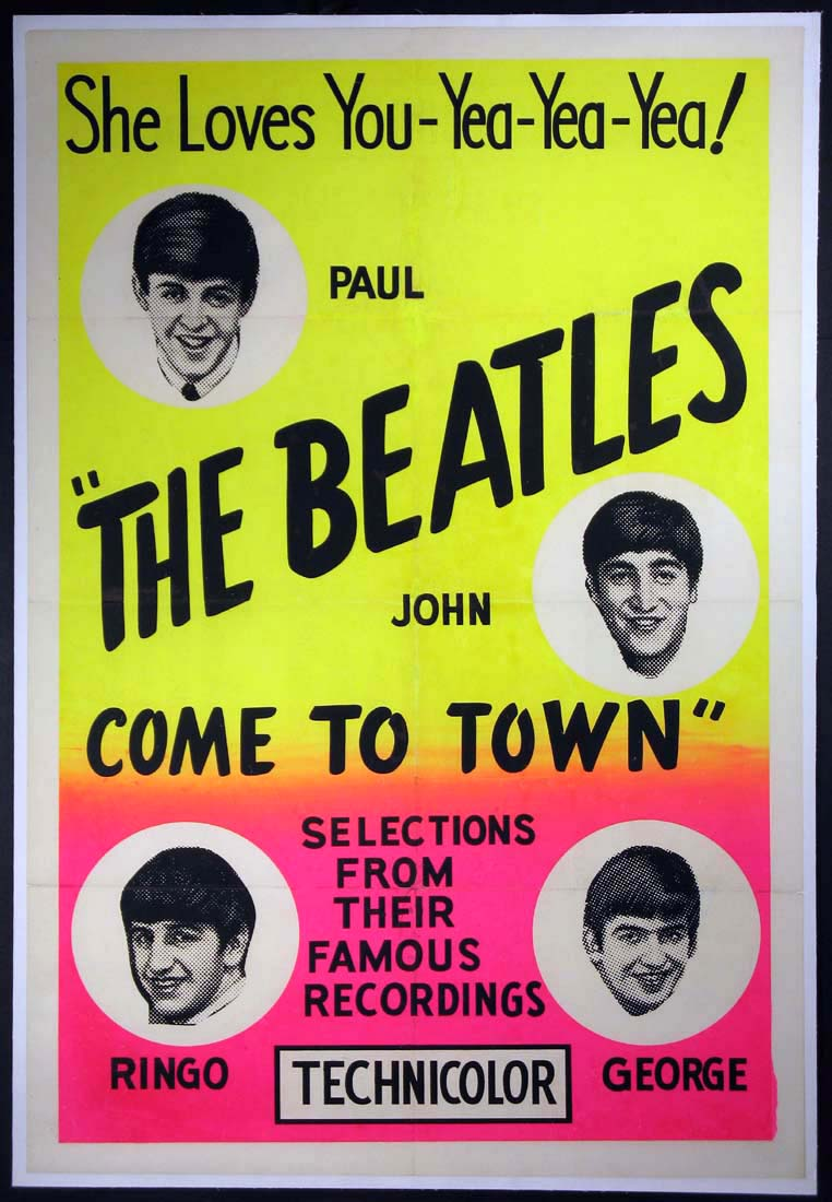 BEATLES COME TO TOWN @ FilmPosters.com
