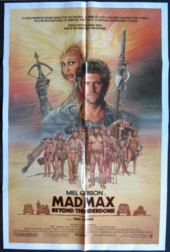MAD MAX BEYOND THUNDERDOME @ FilmPosters.com