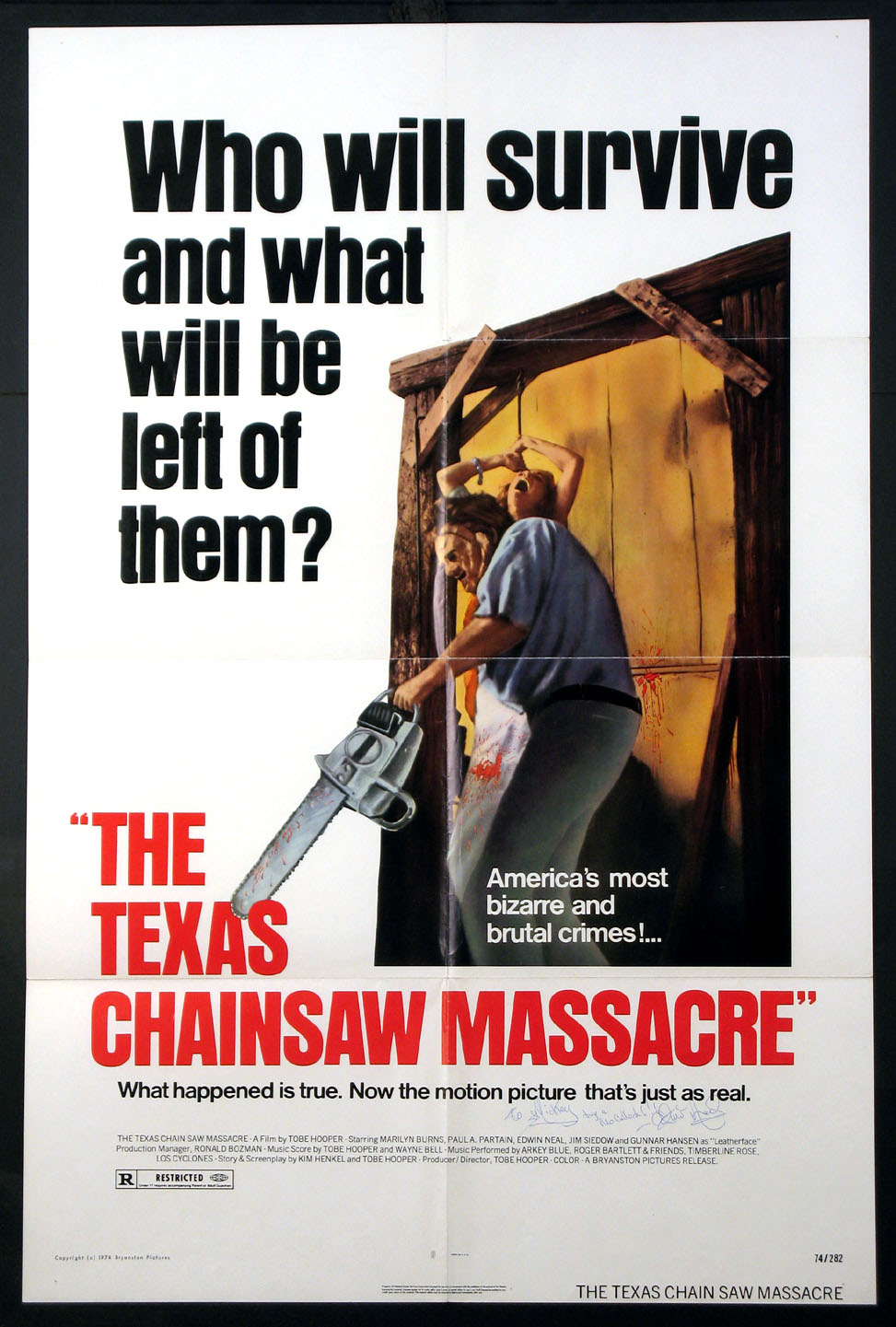 TEXAS CHAINSAW MASSACRE, THE @ FilmPosters.com