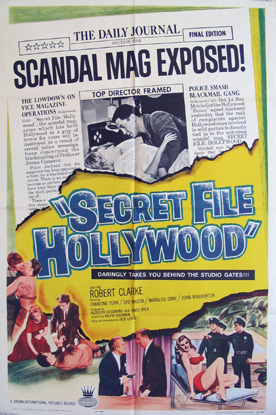 SECRET FILE HOLLYWOOD (Secret File: Hollywood) @ FilmPosters.com