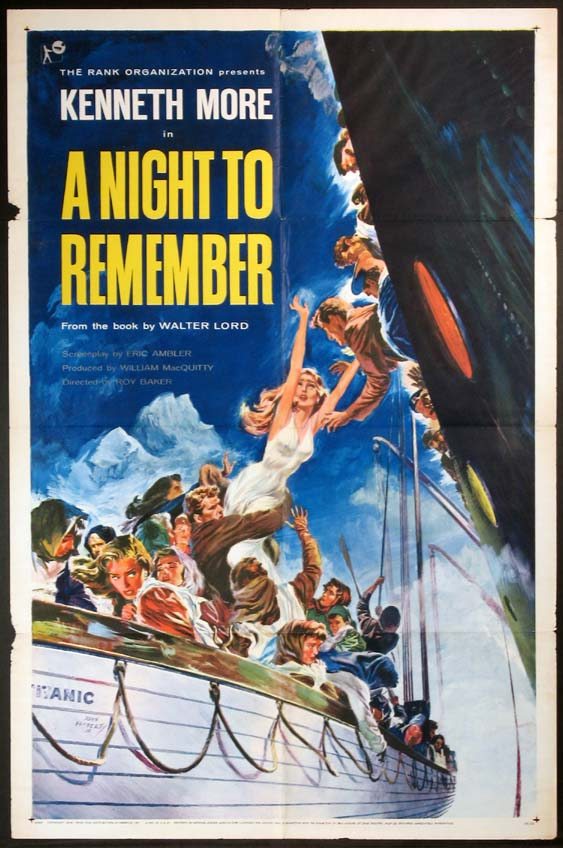 NIGHT TO REMEMBER, A (Titanic) @ FilmPosters.com