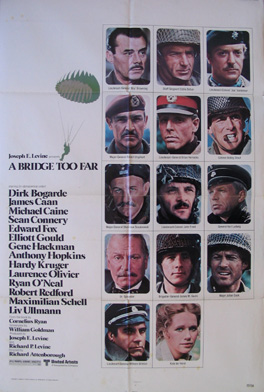 BRIDGE TOO FAR, A (A Bridge Too Far) @ FilmPosters.com