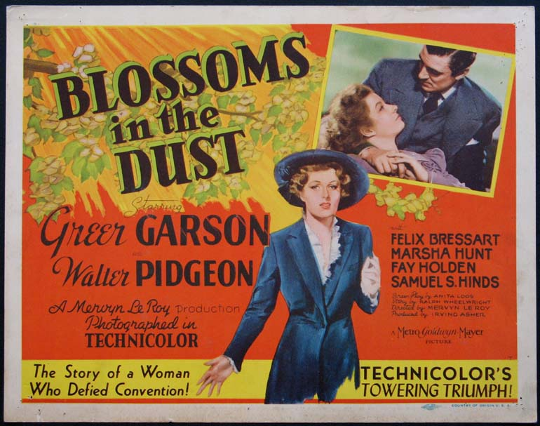 BLOSSOMS IN THE DUST @ FilmPosters.com