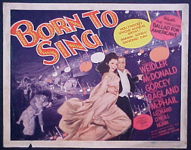 BORN TO SING @ FilmPosters.com