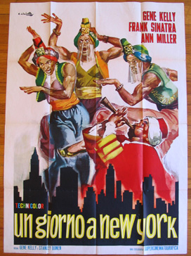 ON THE TOWN @ FilmPosters.com