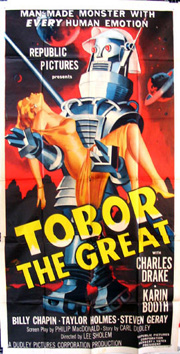 TOBOR THE GREAT @ FilmPosters.com