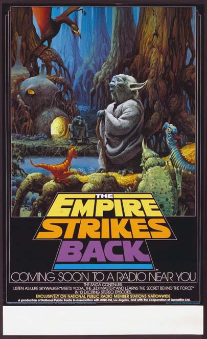 EMPIRE STRIKES BACK, THE (Star Wars) - NPR Poster @ FilmPosters.com