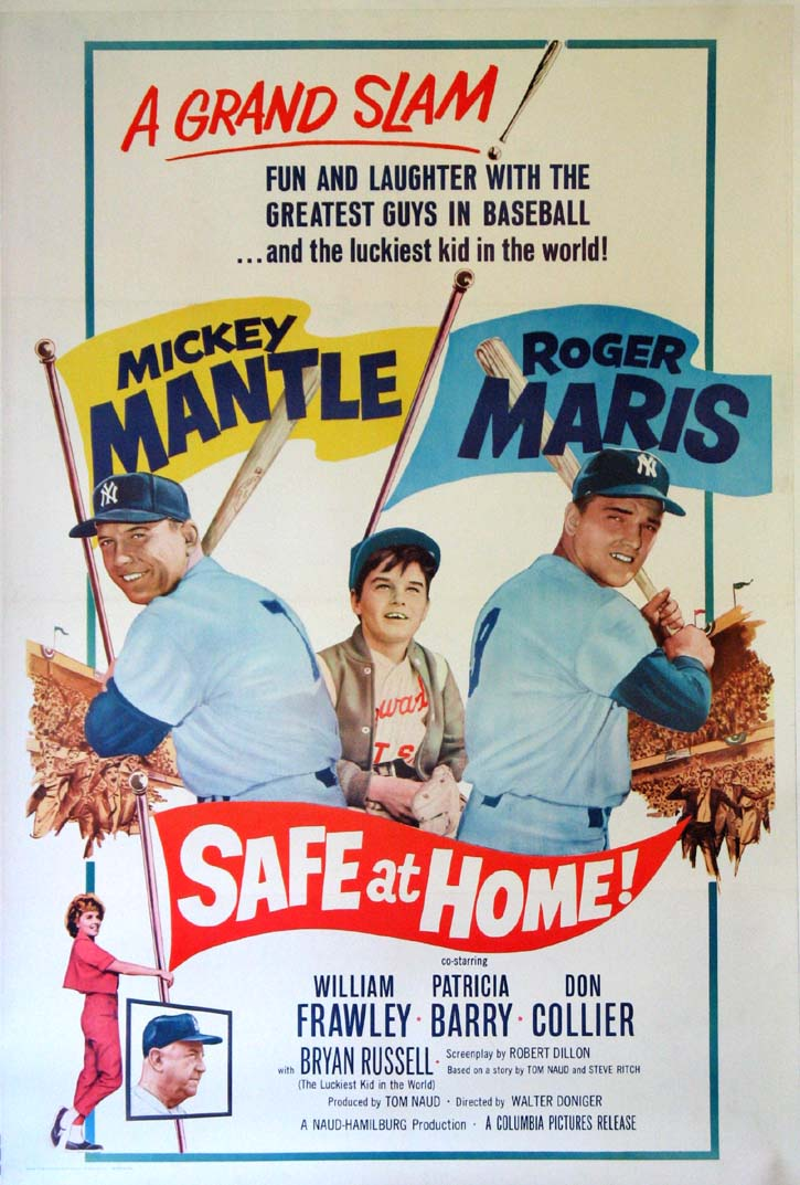 SAFE AT HOME! @ FilmPosters.com