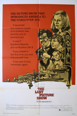 LAST PICTURE SHOW, THE @ FilmPosters.com