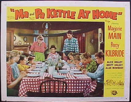 MA AND PA KETTLE AT HOME @ FilmPosters.com