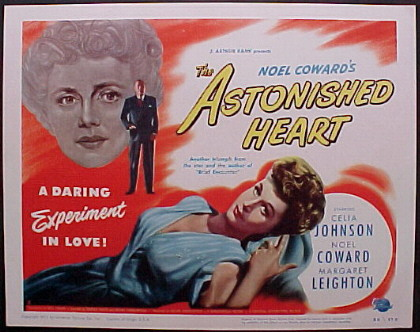 ASTONISHED HEART (Noel Coward's) @ FilmPosters.com