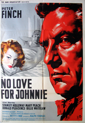 NO LOVE FOR JOHNNIE @ FilmPosters.com