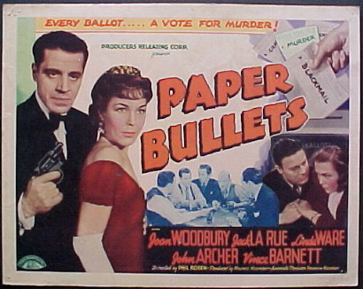 PAPER BULLETS @ FilmPosters.com