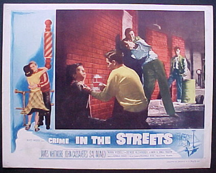 CRIME IN THE STREETS @ FilmPosters.com