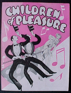 CHILDREN OF PLEASURE @ FilmPosters.com