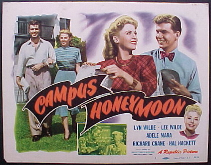 CAMPUS HONEYMOON @ FilmPosters.com