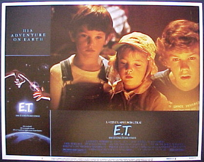 E.T. The Extra-Terrestrial (ET) @ FilmPosters.com