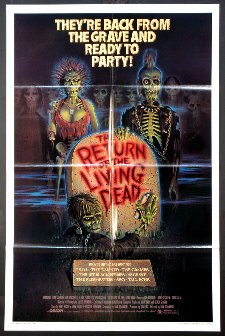 RETURN OF THE LIVING DEAD @ FilmPosters.com