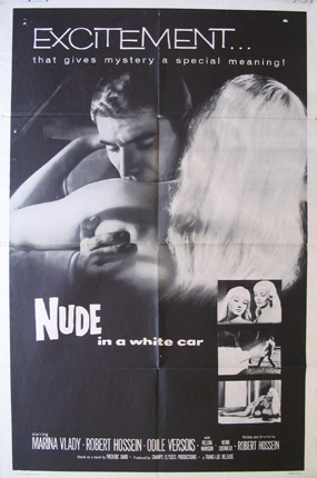 NUDE IN A WHITE CAR @ FilmPosters.com