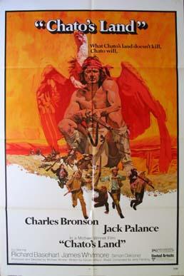 CineScope - Affiche - Les Collines de la terreur - Chato's land - 1971