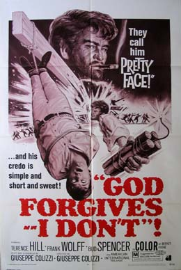 GOD FORGIVES, I DON'T @ FilmPosters.com