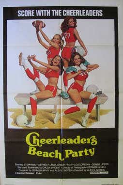 CHEERLEADERS BEACH PARTY @ FilmPosters.com