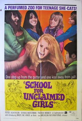 SCHOOL FOR UNCLAIMED GIRLS @ FilmPosters.com