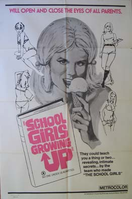 SCHOOL GIRLS GROWING UP @ FilmPosters.com