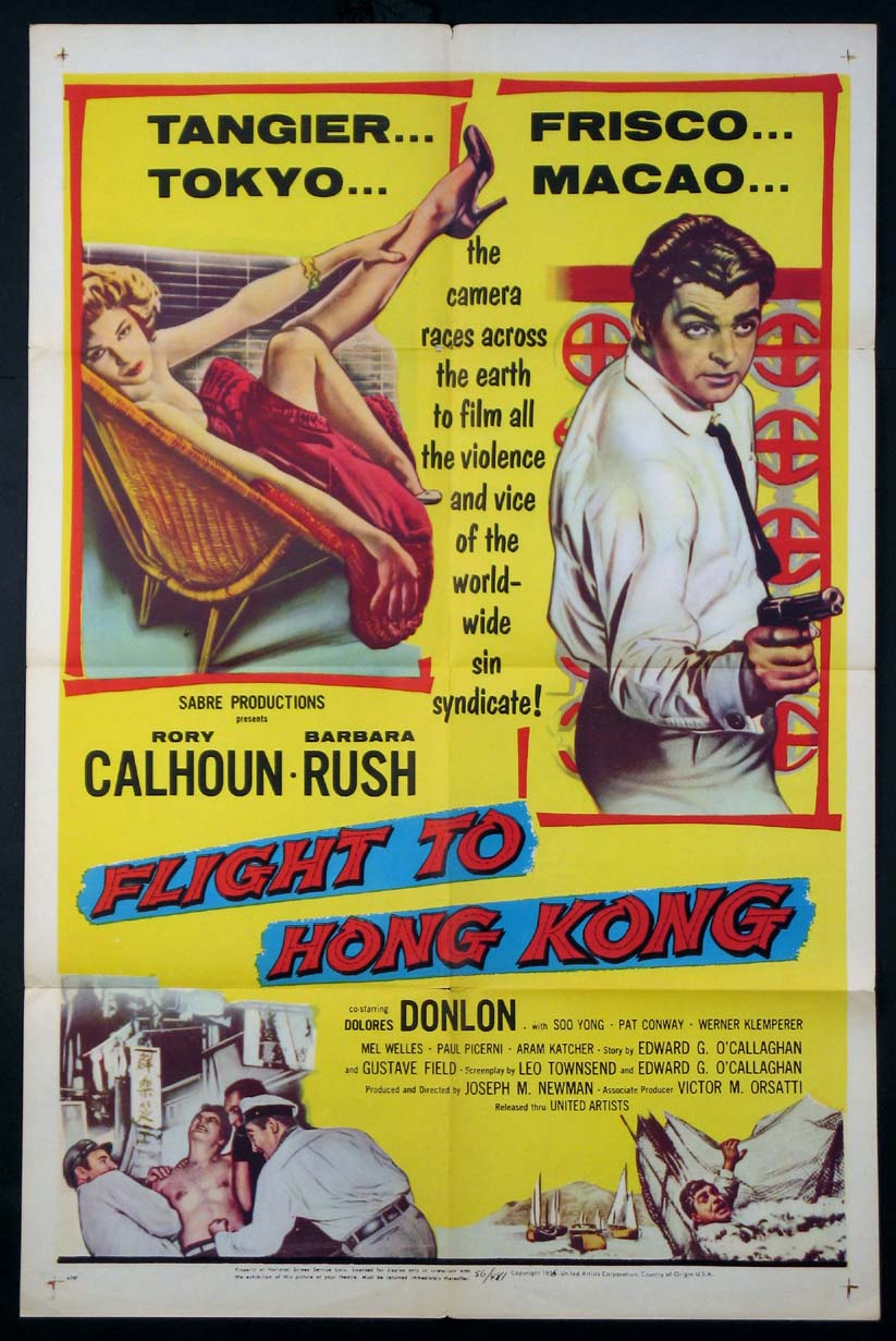 FLIGHT TO HONG KONG @ FilmPosters.com
