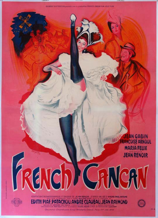 FRENCH CANCAN (French Can-Can) @ FilmPosters.com