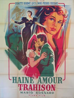 TRADITA, LA (Haine Amour et Trahison, Night of Love) @ FilmPosters.com