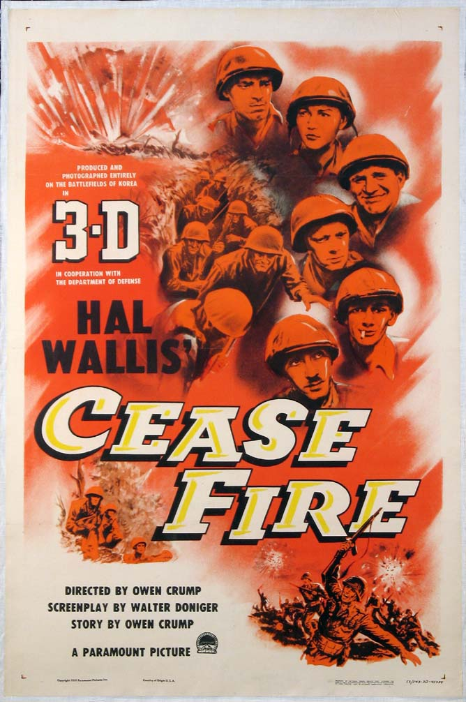 CEASE FIRE! @ FilmPosters.com