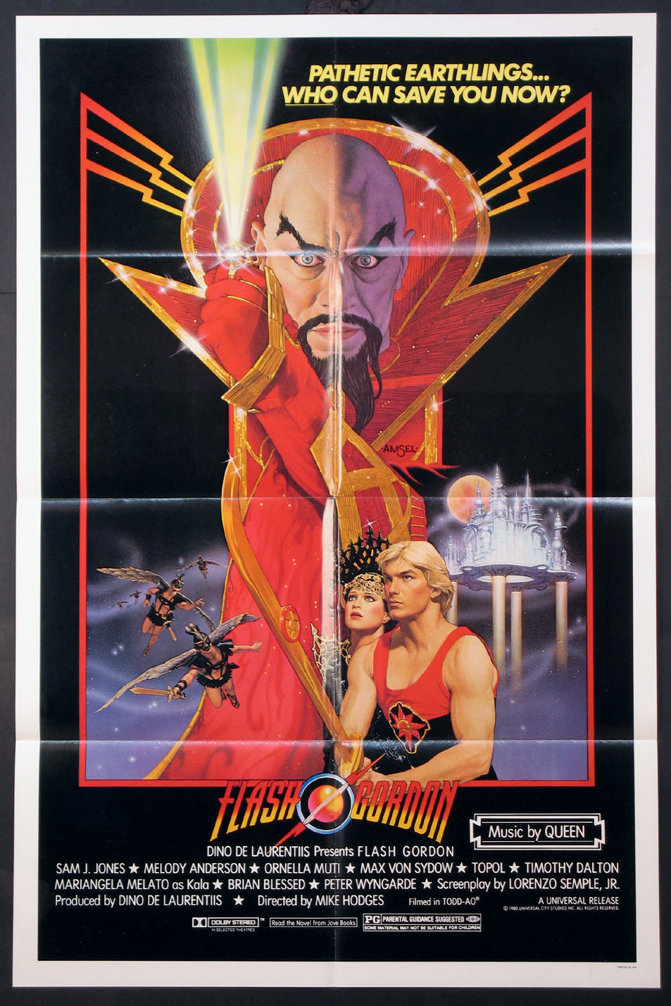 FLASH GORDON @ FilmPosters.com
