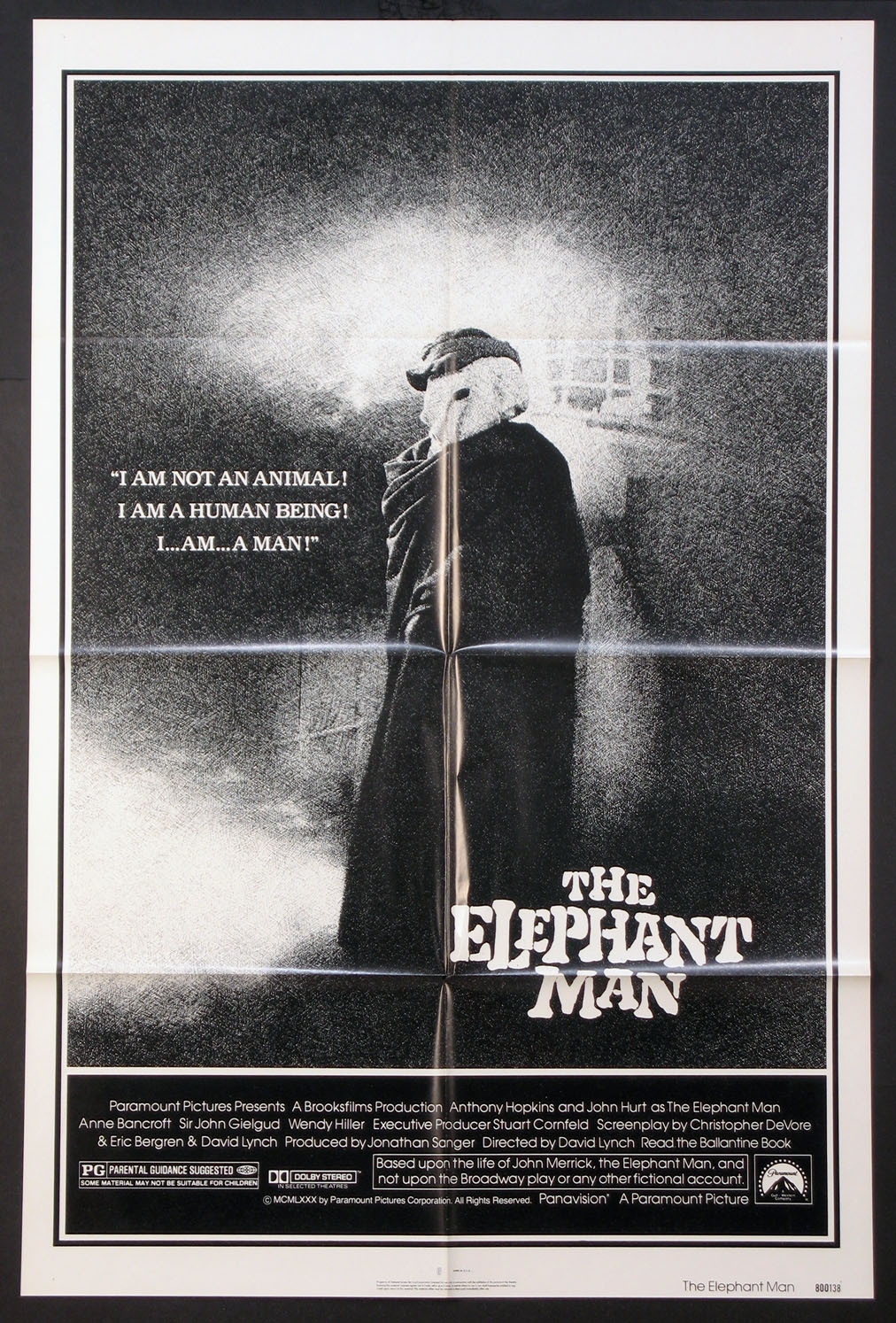 ELEPHANT MAN, THE @ FilmPosters.com