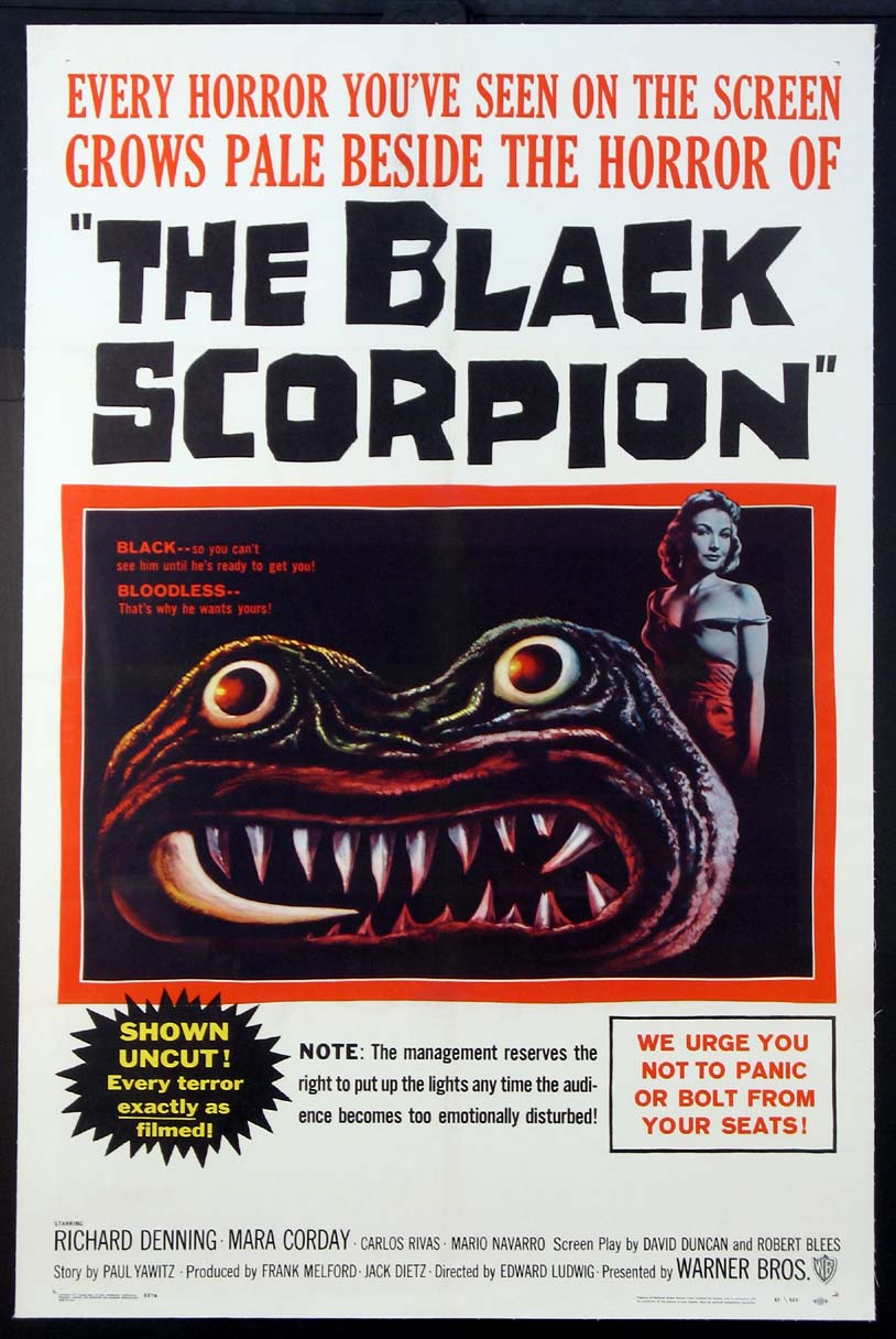 BLACK SCORPION, THE @ FilmPosters.com