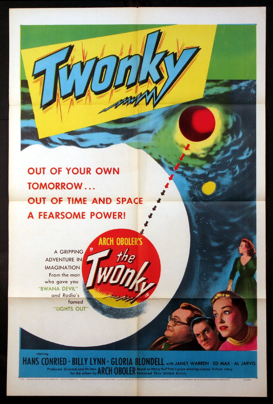TWONKY (Arch Oboler's The Twonky) @ FilmPosters.com