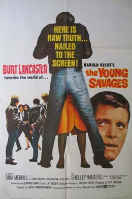 YOUNG SAVAGES @ FilmPosters.com