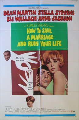HOW TO SAVE A MARRIAGE AND RUIN YOUR LIFE @ FilmPosters.com