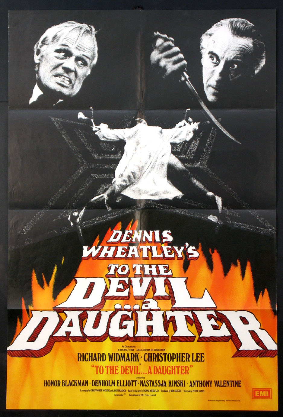 TO THE DEVIL A DAUGHTER @ FilmPosters.com