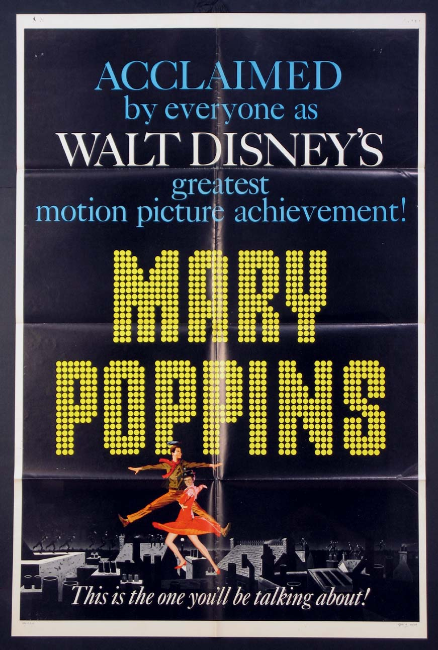 MARY POPPINS @ FilmPosters.com