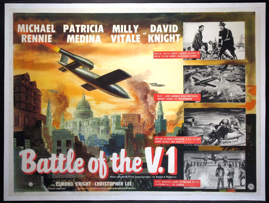 BATTLE OF THE V.1  (aka Missiles from Hell) @ FilmPosters.com