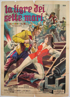 TIGER OF THE SEVEN SEAS (aka Tigre dei Sette Mari) @ FilmPosters.com