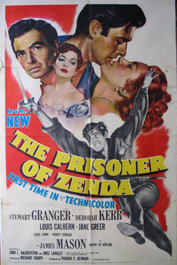 PRISONER OF ZENDA, THE @ FilmPosters.com