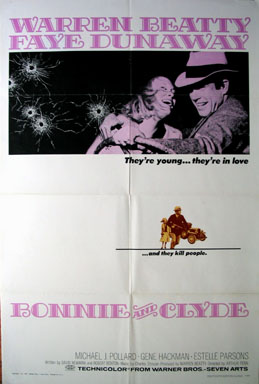 BONNIE AND CLYDE @ FilmPosters.com